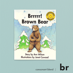 Brrrrr! Brown Bear. Consonant blend (br). Sunshine Letter Blends.