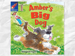 Amber's Big Dog Cover