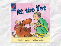 Cover of At the Vet (Rigby Rocket)
