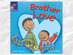 Cover of Brother Love, Rigby Rocket