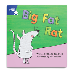 Big Fat Rat. Rigby Star Phonics