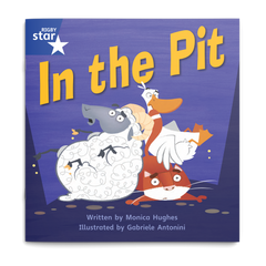 In the Pit. Rigby Star Phonics