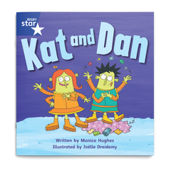 Kat and Dan. Rigby Star Phonics