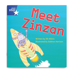 Meet Zinzan. Rigby Star Phonics