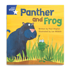 Panther and Frog. Rigby Star Phonics