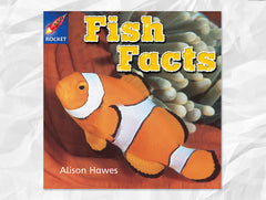 Cover of Fish Facts, Rigby Rocket