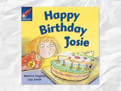 Cover of Happy Birthday Josie (Rigby Rocket)