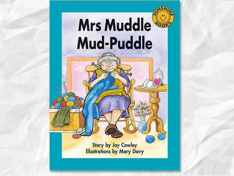 Mrs Muddle Mud-Puddle by Joy Cowley