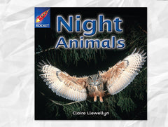 Cover of Night Animals (Rigby Rocket)