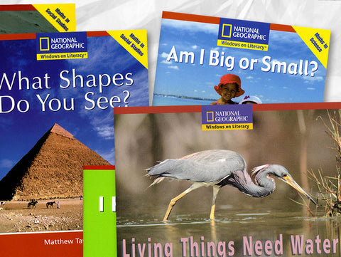 National Geographic Windows on Literacy (Emergent, 15 titles)
