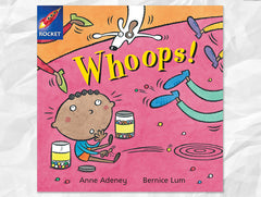Cover of Whoops! (Rigby Rocket)