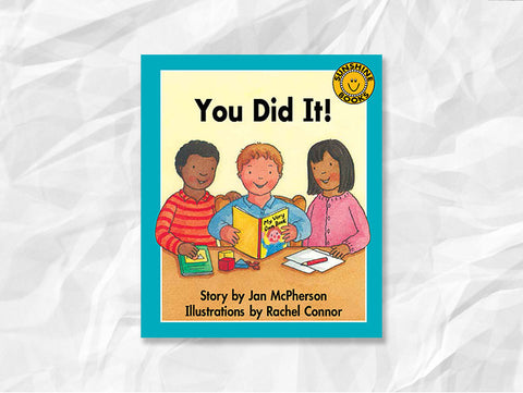 You Did It! By Jan McPherson