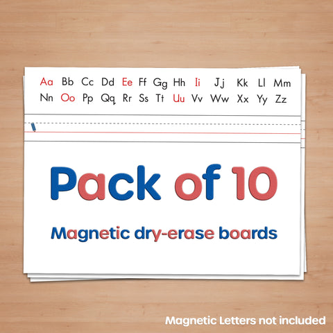 Magnetic Whiteboard (Pack of 10 boards)