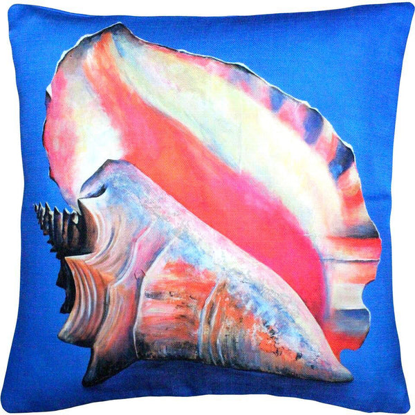 Captiva Queen Conch Pillow