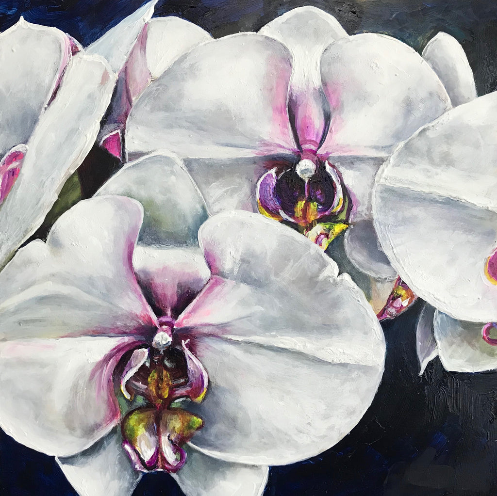 White Orchids, 12