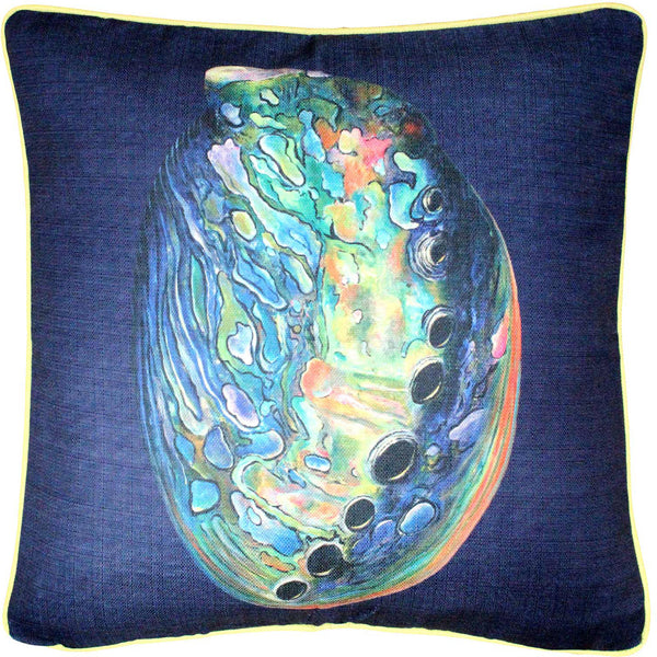 Shoal Cape Abalone Solitaire Pillow