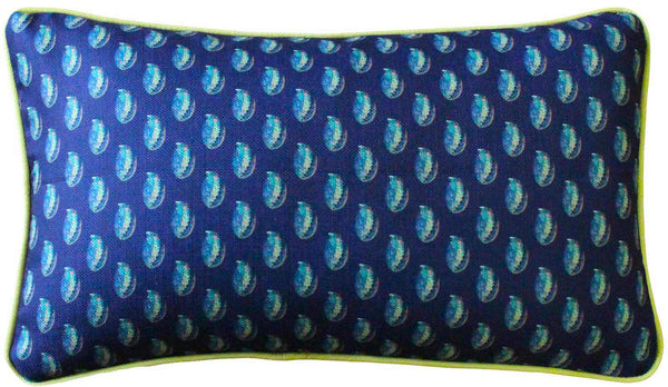 Shoal Cape Abalone Tiny Print Decorative Pillow