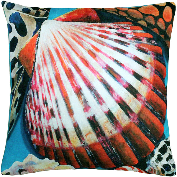 Newport Beach Scallop Mix Pillow