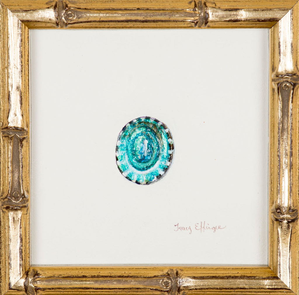 Turquoise Limpet Inside