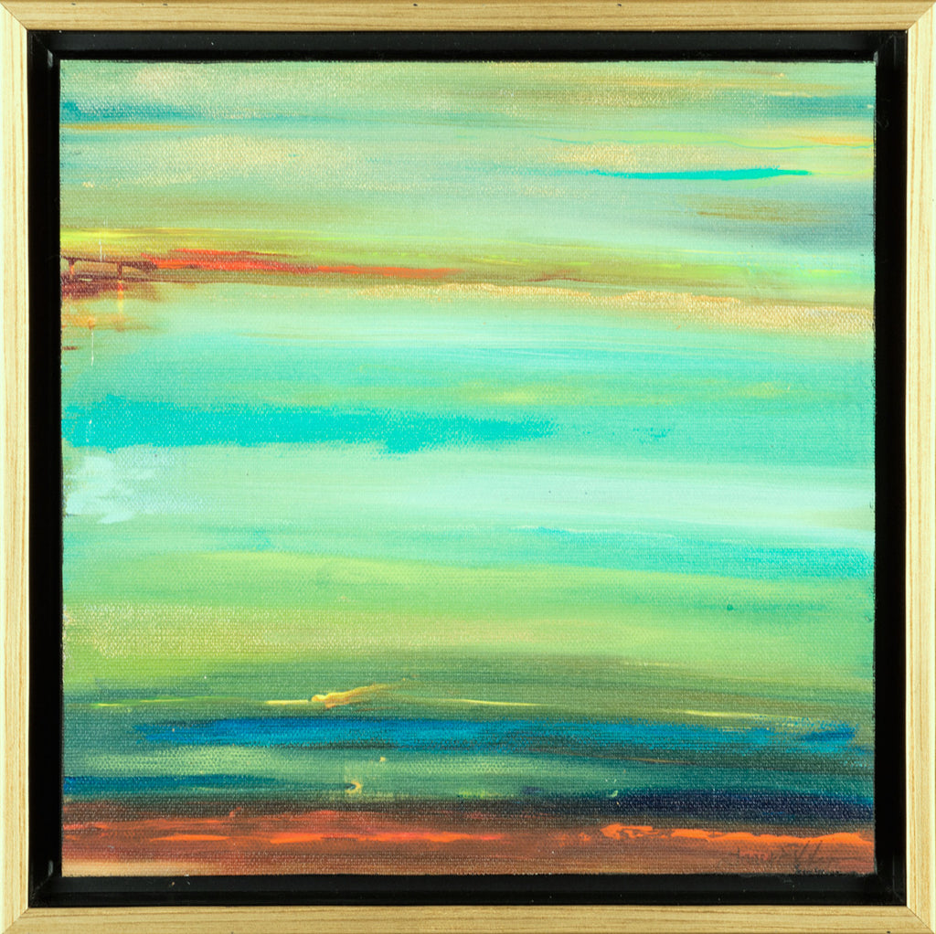 Where the Sky Meets the Earth Hand Painted Giclee