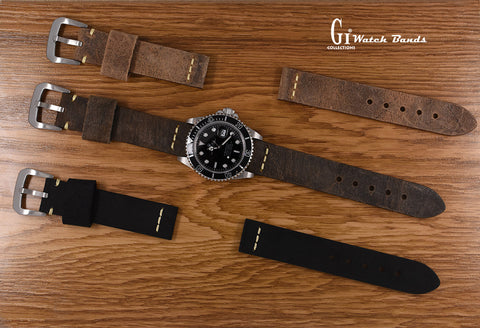 Vintage watch strap Gussitaly