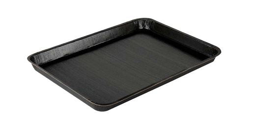 18 x 13 Black Disposable Tray (100/cs)