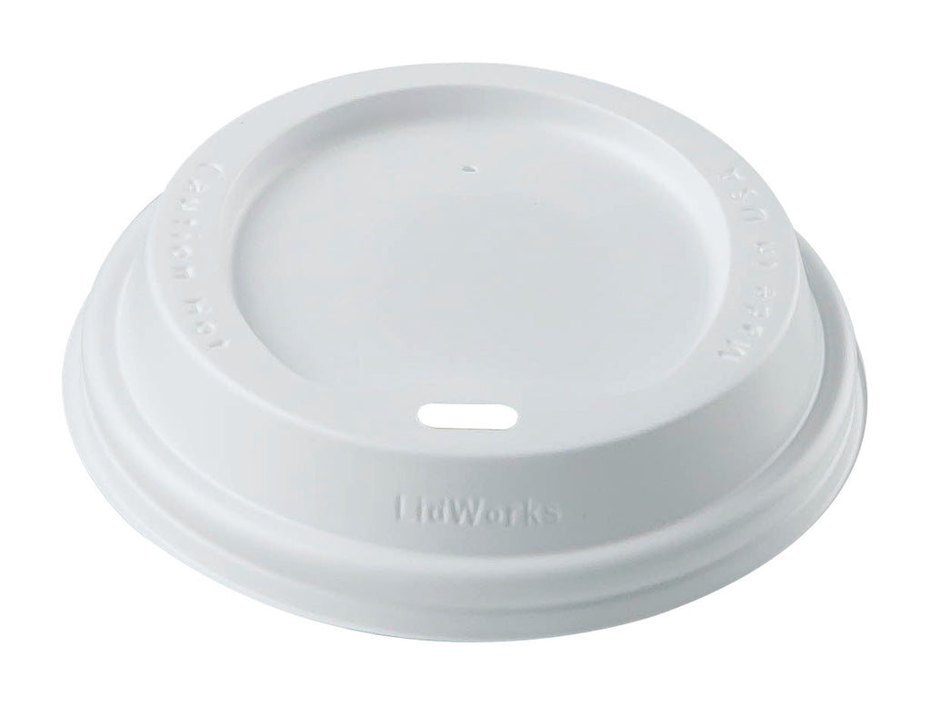 Lids - White Dome Sipper Lids