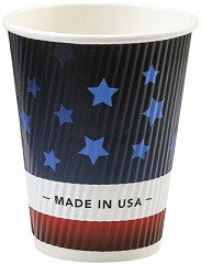 Patriot Design Groove Cups