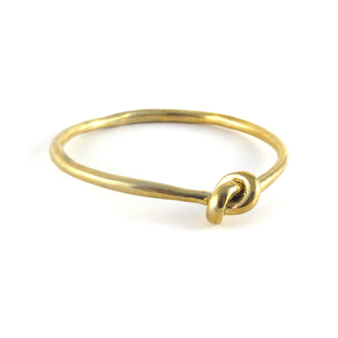 Brass Knot Bangle