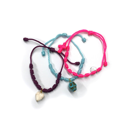 Easy Caribbean Bracelet Set - Cotton/Nylon
