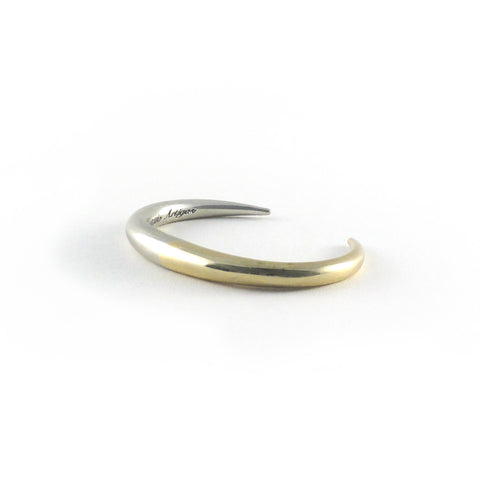Two Tone Infinite Cuff- Yellow/White