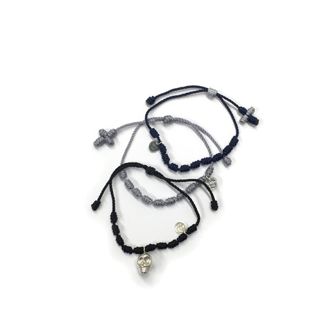 Rock Star Bracelet Set - Cotton/Nylon