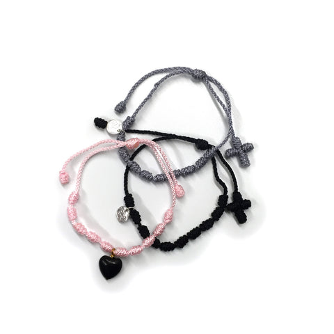 Soft Touches Bracelet Set - Cotton/Nylon