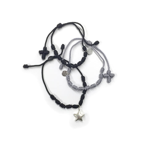 Star Dust Bracelet Set - Cotton/Nylon