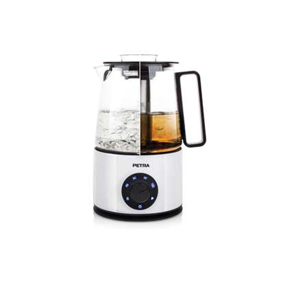 PETRA PURETEA INDUCTION KETTLE & TEA MAKER