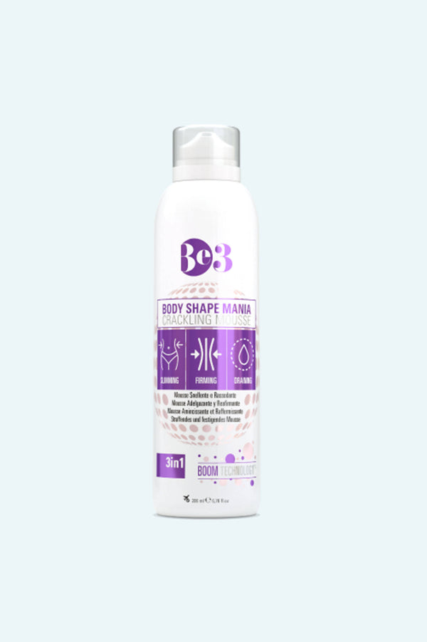 Be3 Body Shape Crackle Mousse - Be3 Evolution