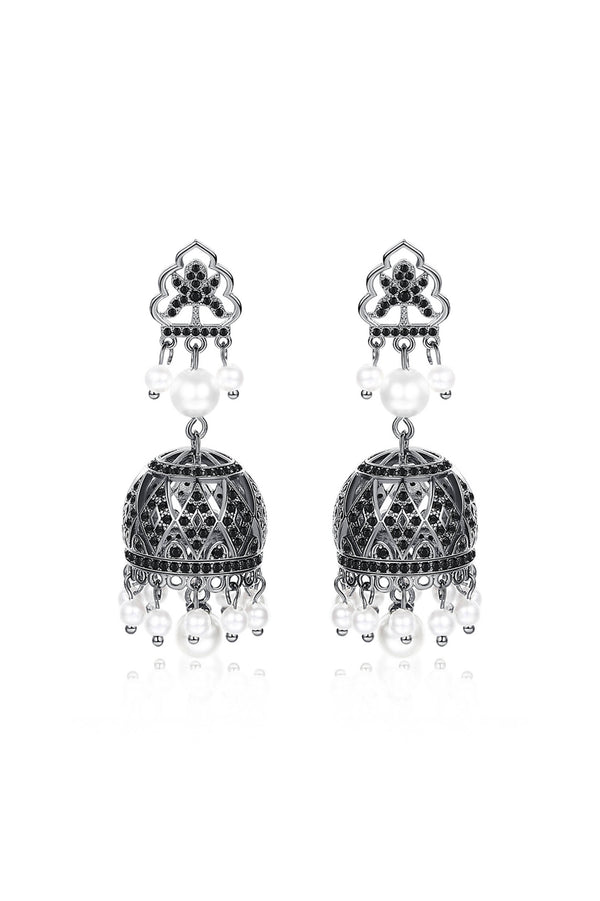 Dangle Drop Jhumka Earrings - Saverah Village