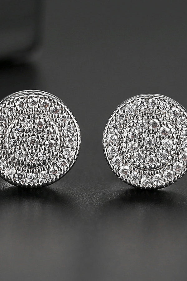 Cubic Zirconia Earrings - Saverah Village