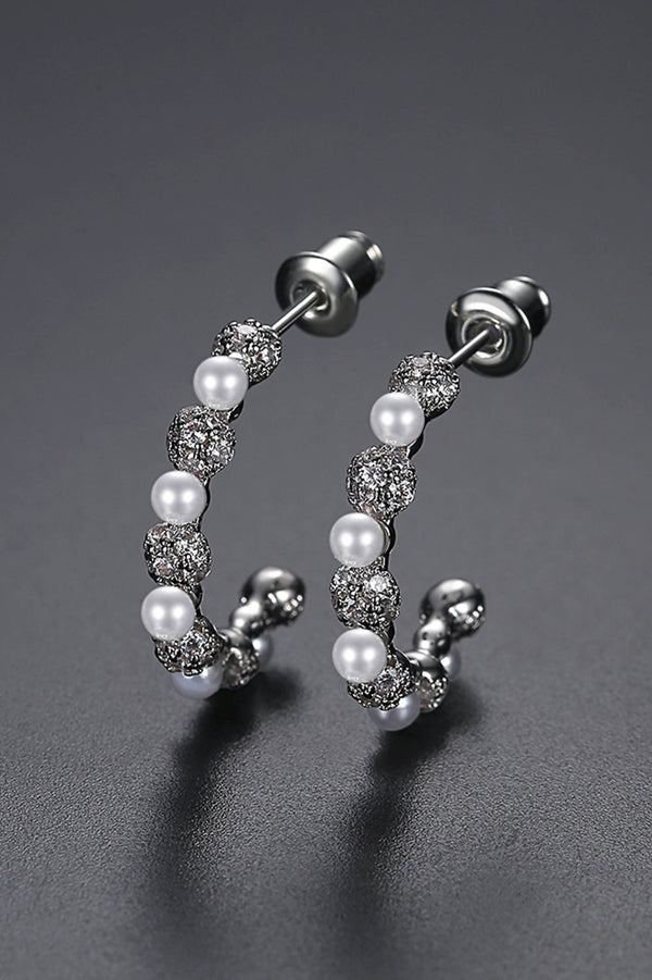 Freshwater Pearl Earings - Saverah Village