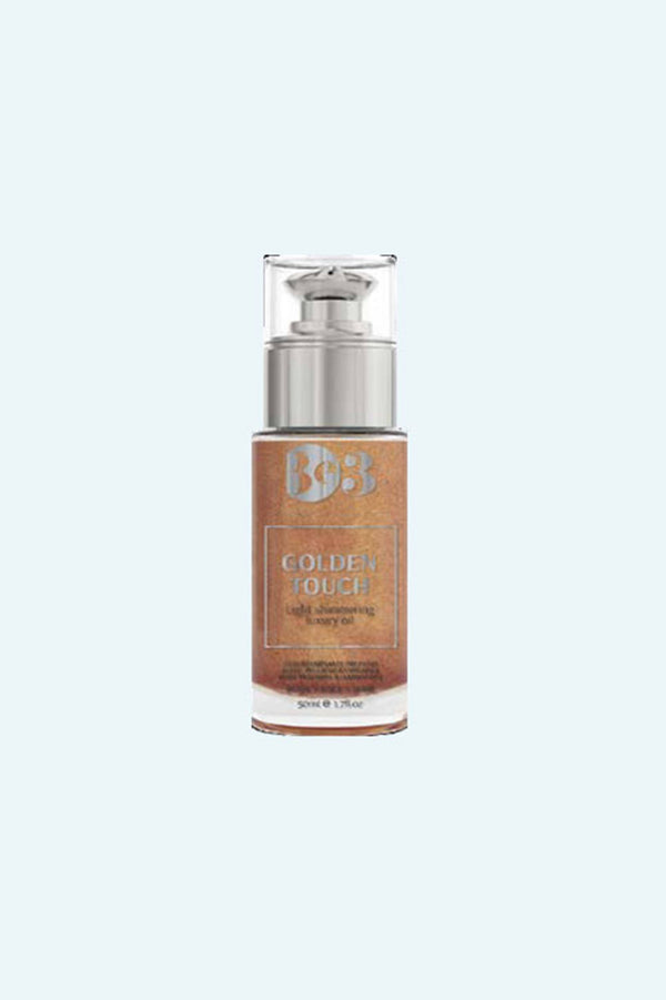 Be3 Golden Touch Dry Body Shimmer Oil