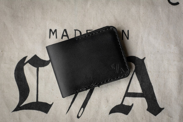 2 Pocket Wallet x Stadium Way x Black