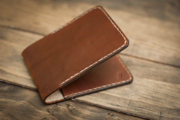 2 Pocket Wallet | Mahogany