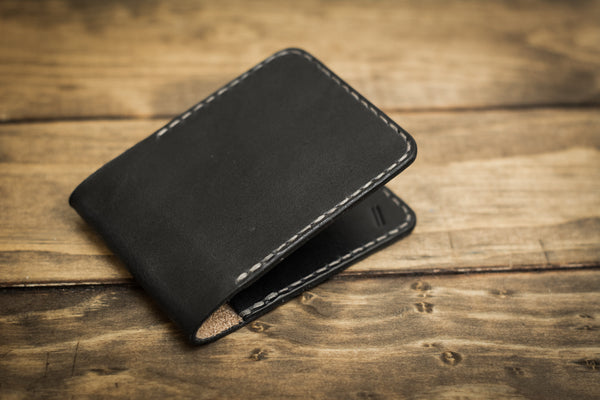 2 Pocket Wallet | Black