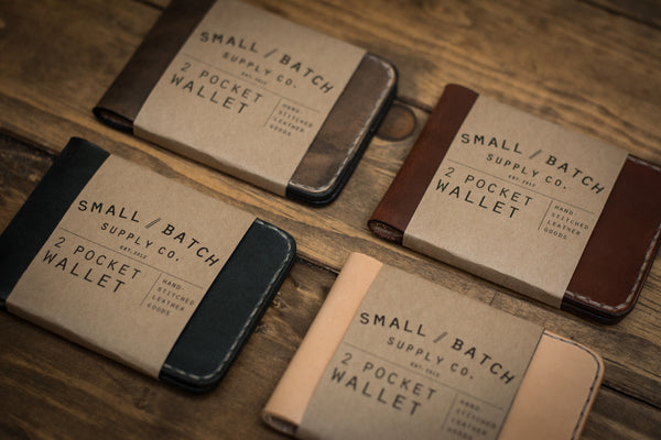 2 Pocket Wallet | Natural