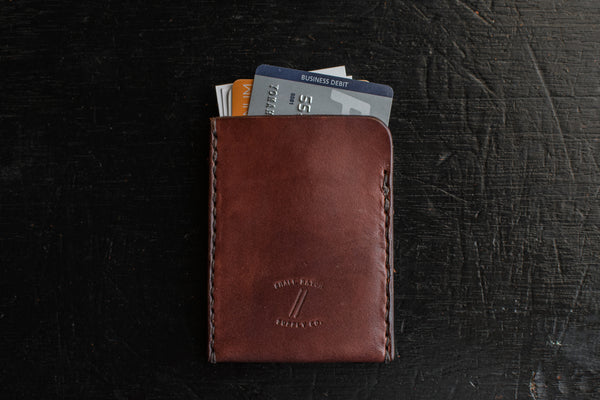 Essential Wallet | Mahogany