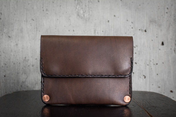 Snap Wallet | Walnut