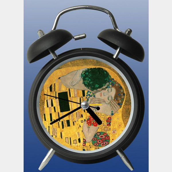 Klimt The Kiss Clock - Designer Studio