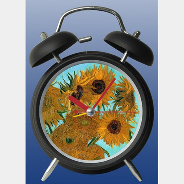 Van Gogh Sunflowers Clock