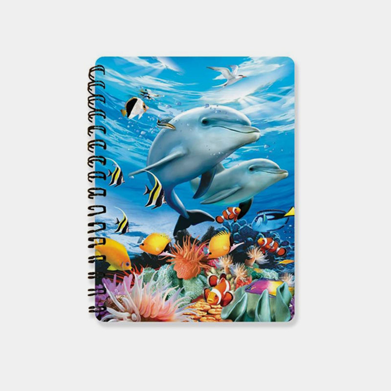Beneath The Waves 3D Cover A6 Diary - Designer Studio