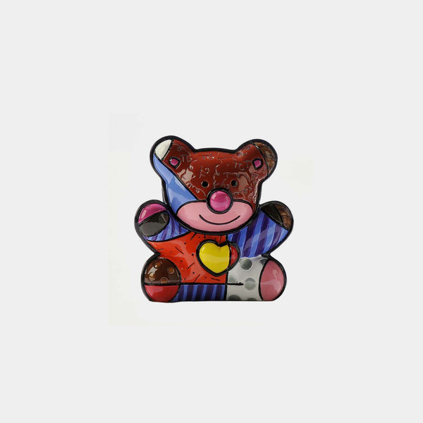 Britto Bear-Love Mini Figurine - Designer Studio